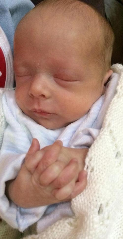 Callum was born 11 weeks premature