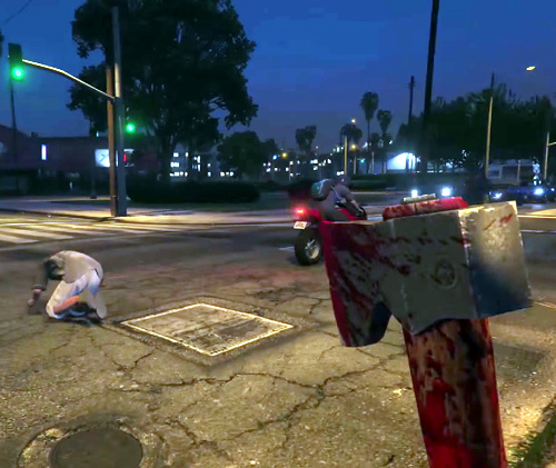 A hatchet rampage in stomach-churning detail made possible by next-generation consoles