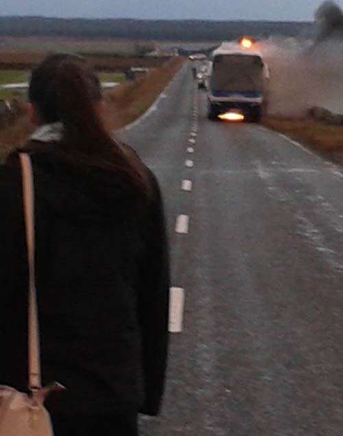 The Scottish Fire and Rescue Service said no-one was injured