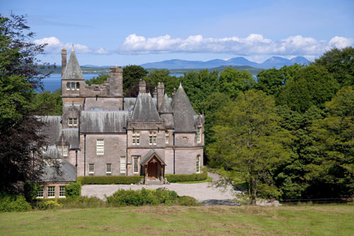 The estate offers salmon and trout fishing
