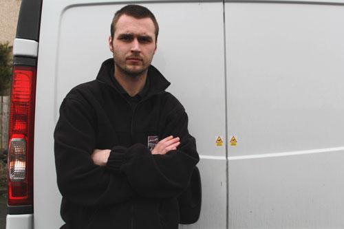 James Johnston filmed the incident