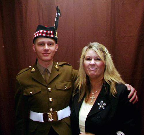 Mark Connolly and his mother Linda McComiskie