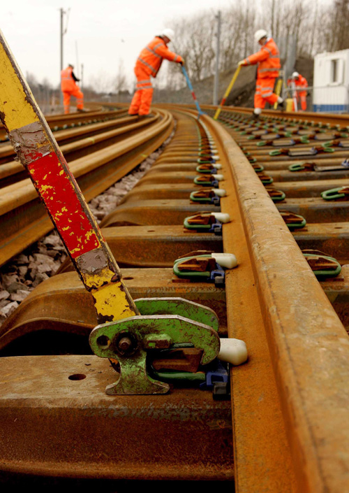 Rail works at Easter - or ant time of the year - rarely result in overwhelming joy
