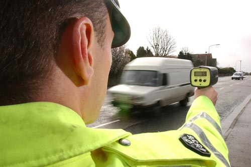 The figures revealed speeding hotspots