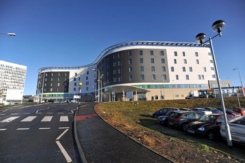 Fife's Victoria Hospital has come under fire in the past