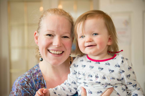Debbie MacDonald rushed to her daughter's bedroom