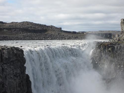 Dettifoss waterfall credit Edwin Baynes