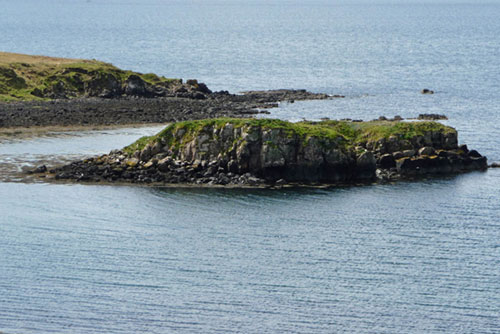 The £10,000 island can even be walked to at low tide