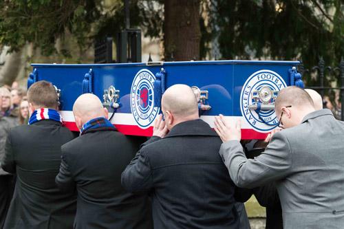 Jak Trueman funeral