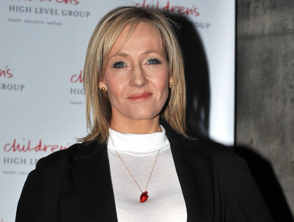 Rowling was convinced there was an intruder in her room