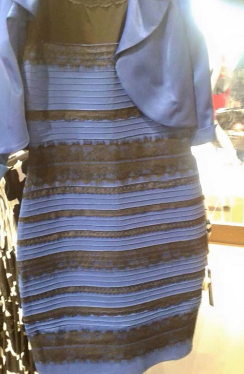 The picture of the dress that sparked a massive global controversy