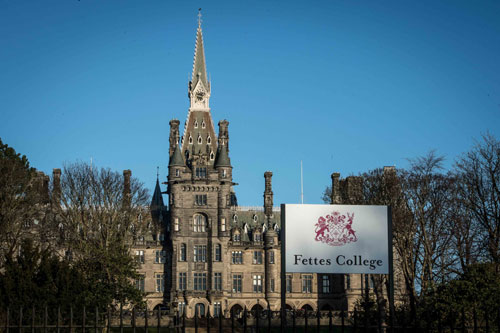 A picture of Fettes collage- Business news