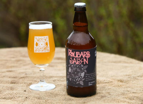 The Rhubarb Saison will debut next month