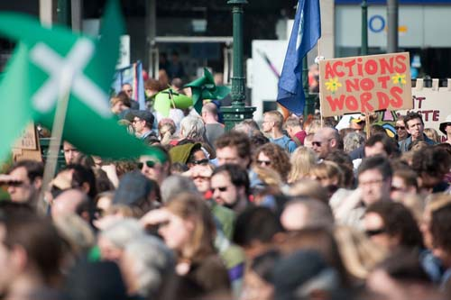 The people's climate march  2015