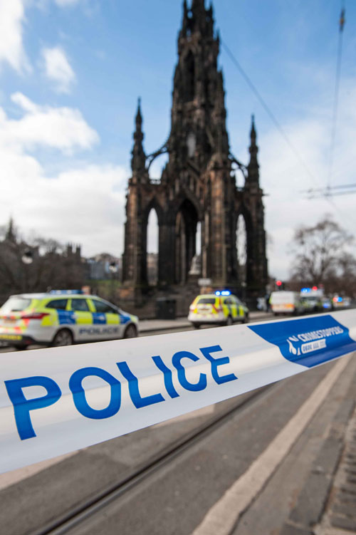 Princes Street incident, Edinburgh, 05 March 2015