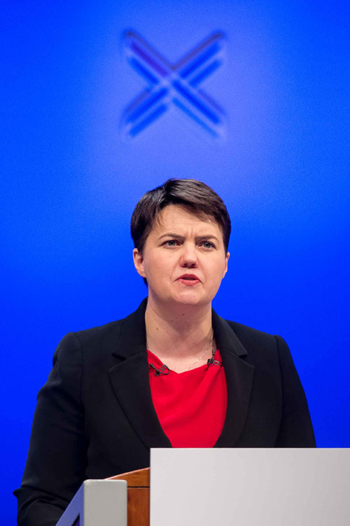 "Ruth Davidson says we are facing an ""emergency"" in the North Sea"