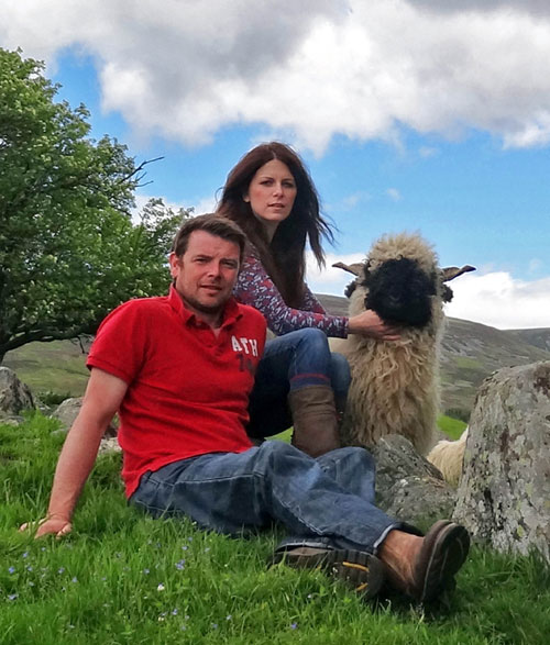 Raymond and Jenni have a farm in Tomintoul