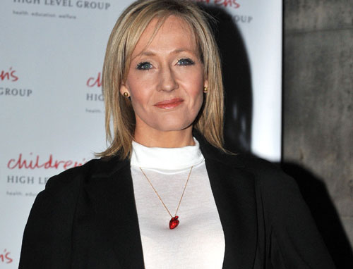 Rowling wrote the first Potter book when she was a single mum