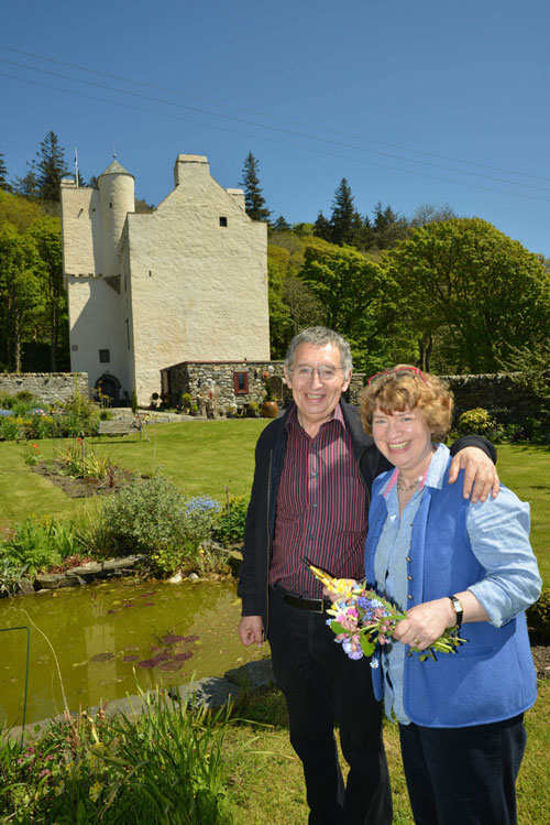 Janet and John spent 8 years renovating the castle