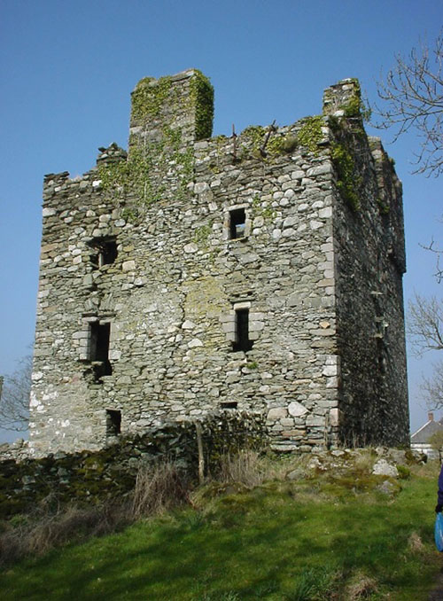 """They described the castle as a """"labour of love"""""""