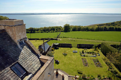 The castle boasts stunning views over Dumfries