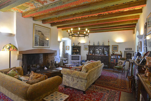 The interior has stayed true to its historical roots