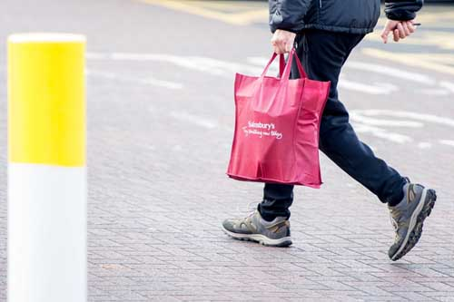Shoppers have started using more reusable bags