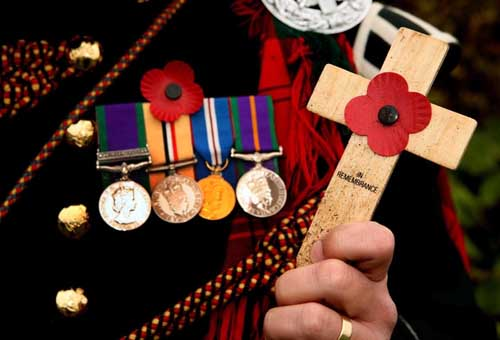 Families of servicemen are being urged to come forward