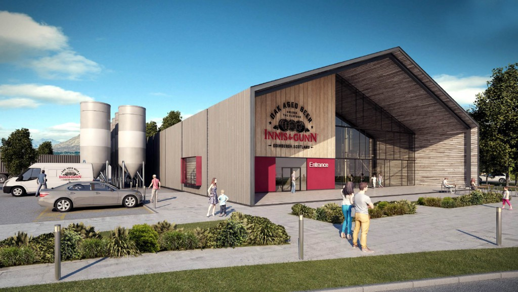 Artist's impression of how the new brewery might look