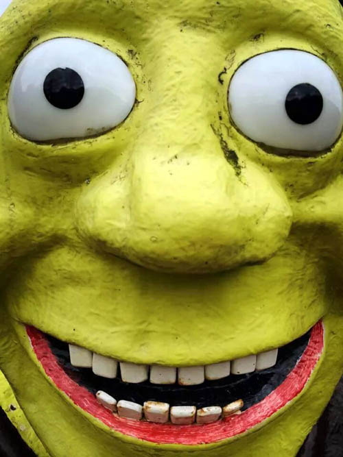 "Shrek's ""rape face"""