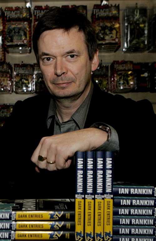 SCOTS crime writer Ian Rankin