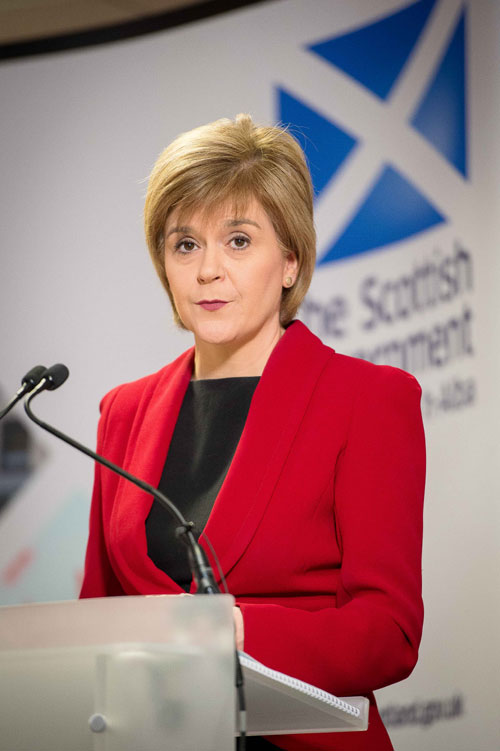 Sturgeon will lay out the plans today
