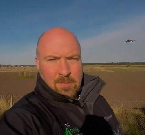 William Bird recorded the video