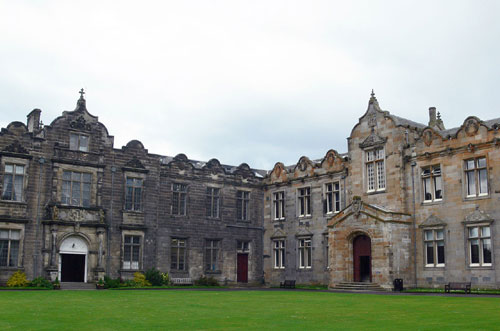 The exhibition will be hosted at St Andrews, and opened this weekend