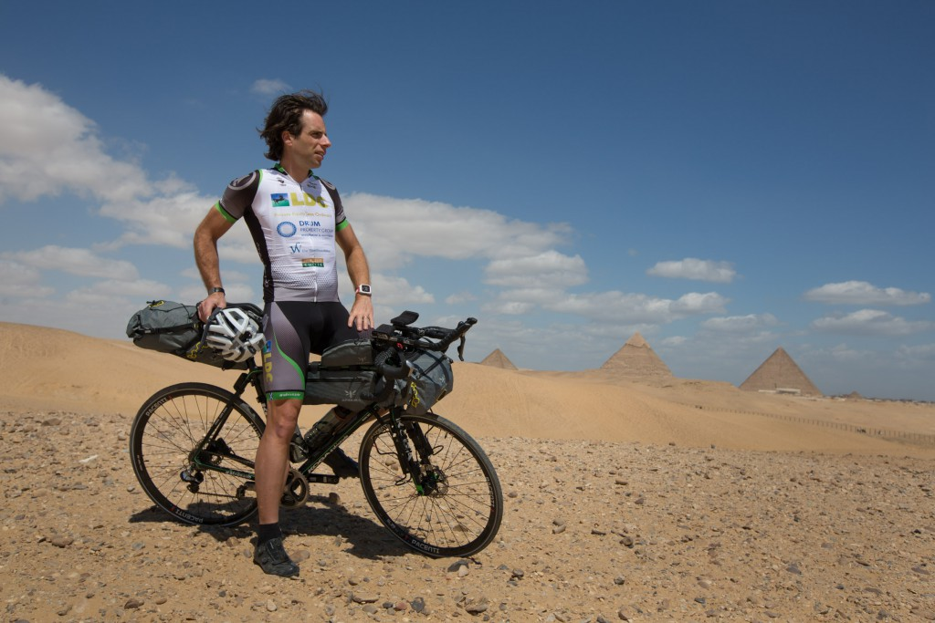 Mark Beaumont has also cycled on many iconic routes around the world