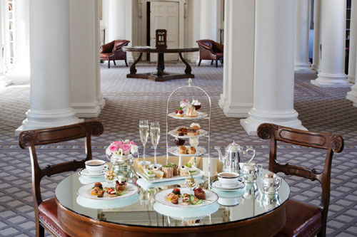 "The afternoon tea will be ""one of the finest"" in Edinburgh"