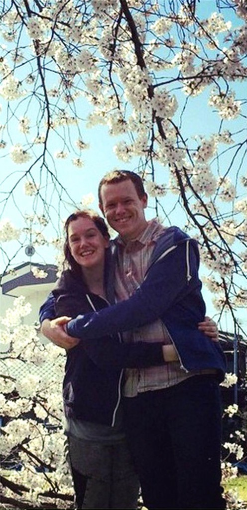 Chris planned to propose in Japan under the blossom trees