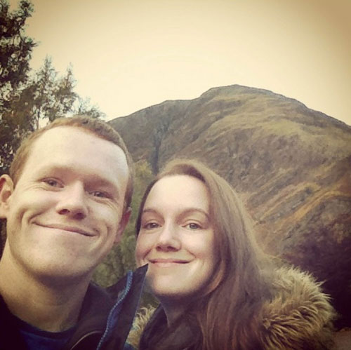 Chris and Claire met while studying at the University of Glasgow