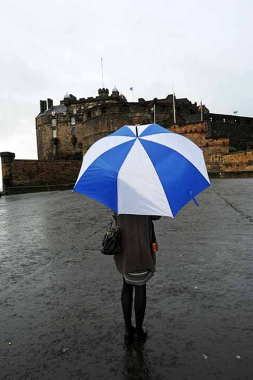 Edinburgh Castle was the number one attraction in Scotland