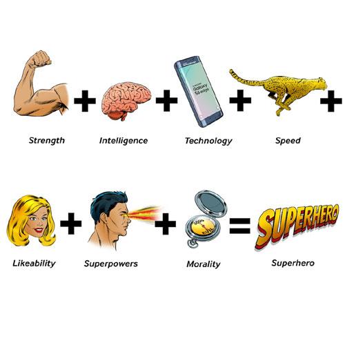 "Researchers have found the ""winning superhero formula"""