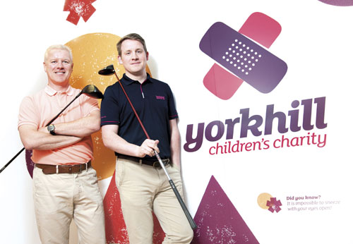 Tom Lovering and Michael McEwan will take on the challenge for charity