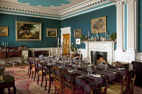 The dining room in the estate house-Business News Scotland