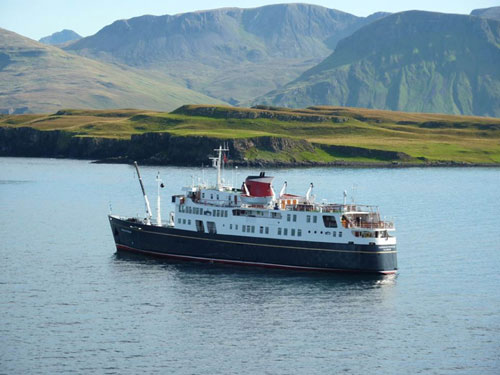 Canna takes two years to reach by ferry