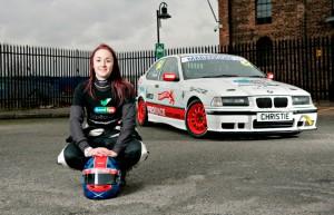 Roookie Scottish racer Christie Doran, ambassador for Good Egg Driving