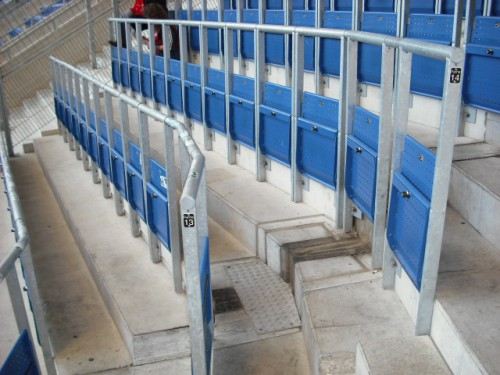 The safe standing seats