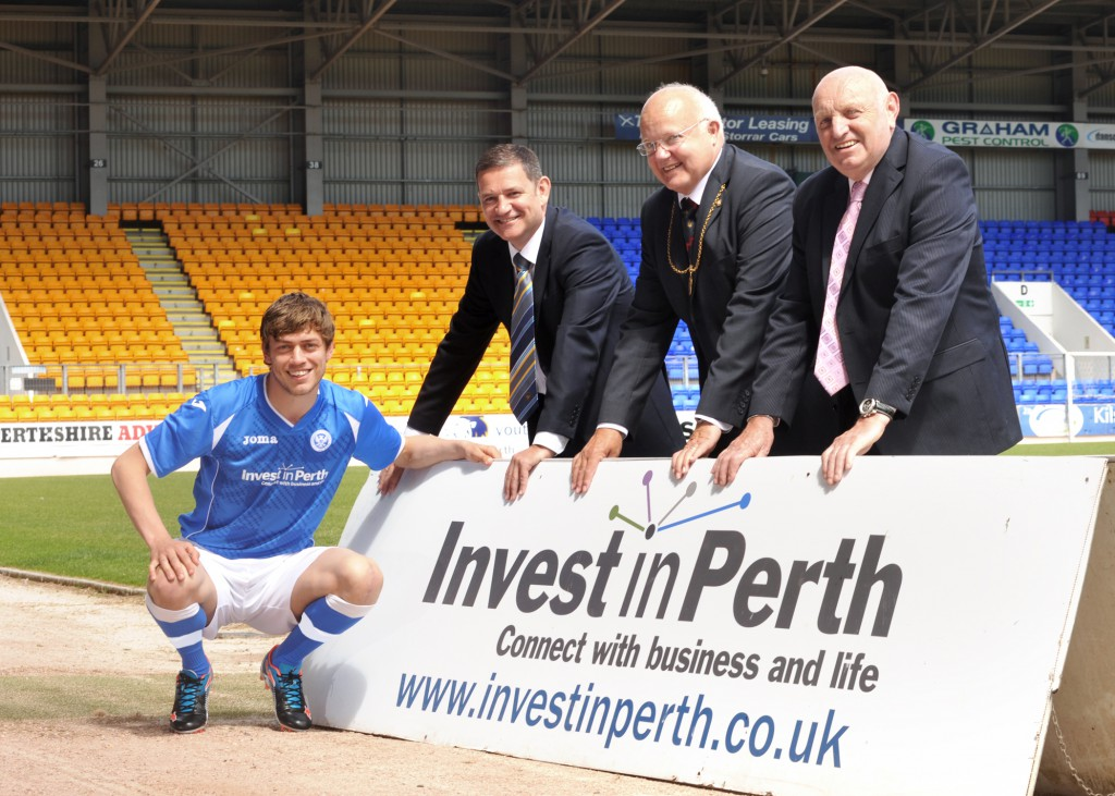 PR agency Holyrood Partnership set up media event for client to announce new football sponsorship