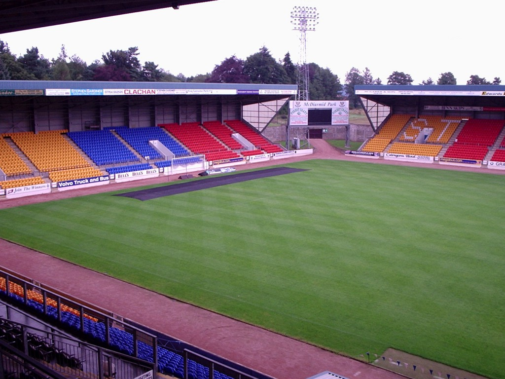 McDiarmid park will be left empty as St Johnstone are more likely to be heading to Scandinavia, Ireland or the Baltic states