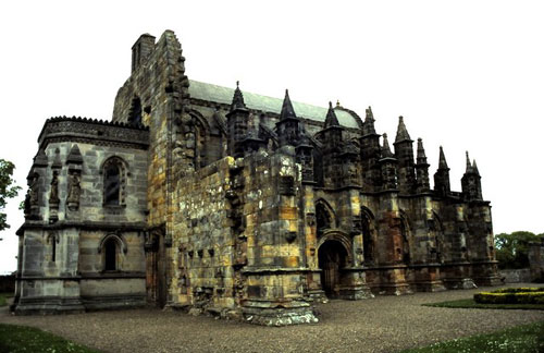 The Rosslyn Chapel in Edinburgh was used in The Da Vinci Code (Picture: Ronnie Leask)