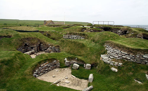Skara Brae is a stone-built settlement over 5,000 years old