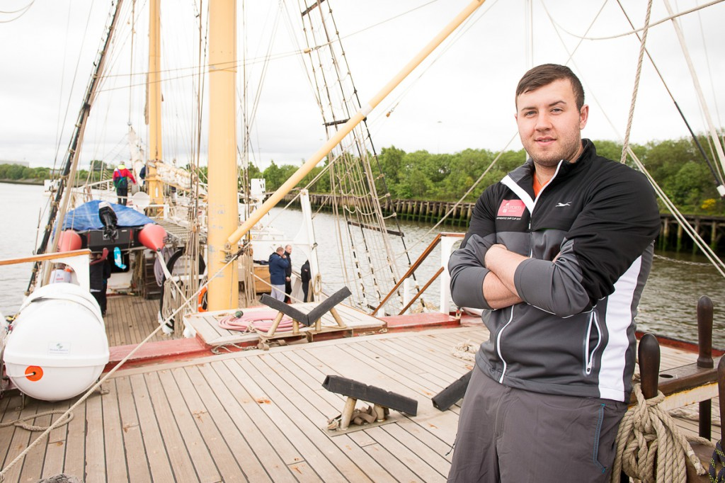 An apprentice from the Peel Ports